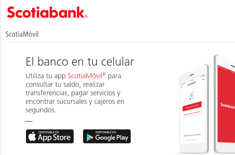 App Para Consultar Saldo Scotiabank