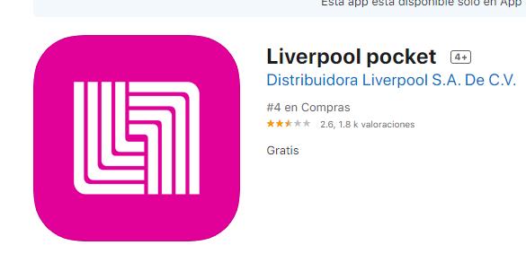 Consulta De Saldo Liverpool En App
