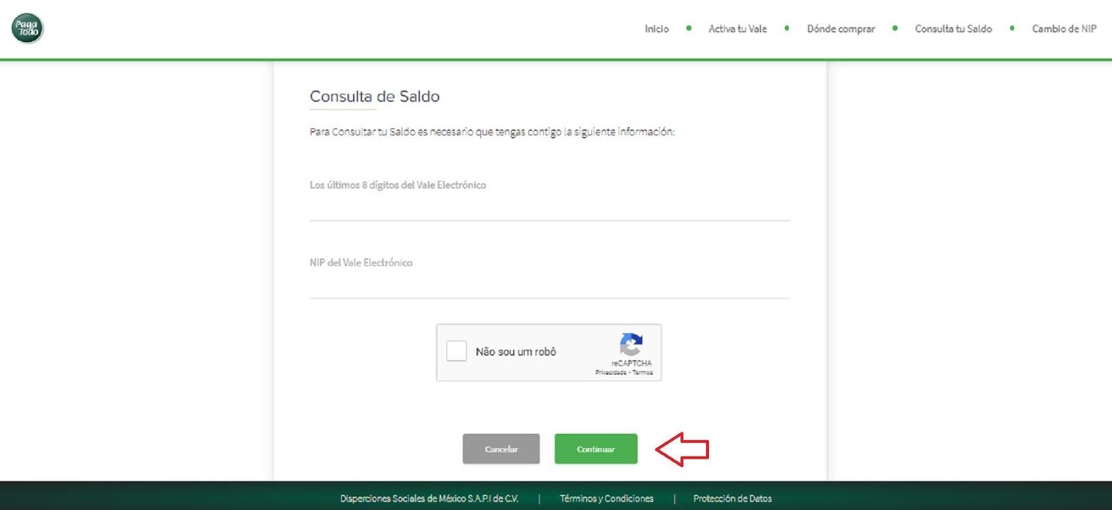 Cómo Consultar Saldo De Tarjeta Verde Online